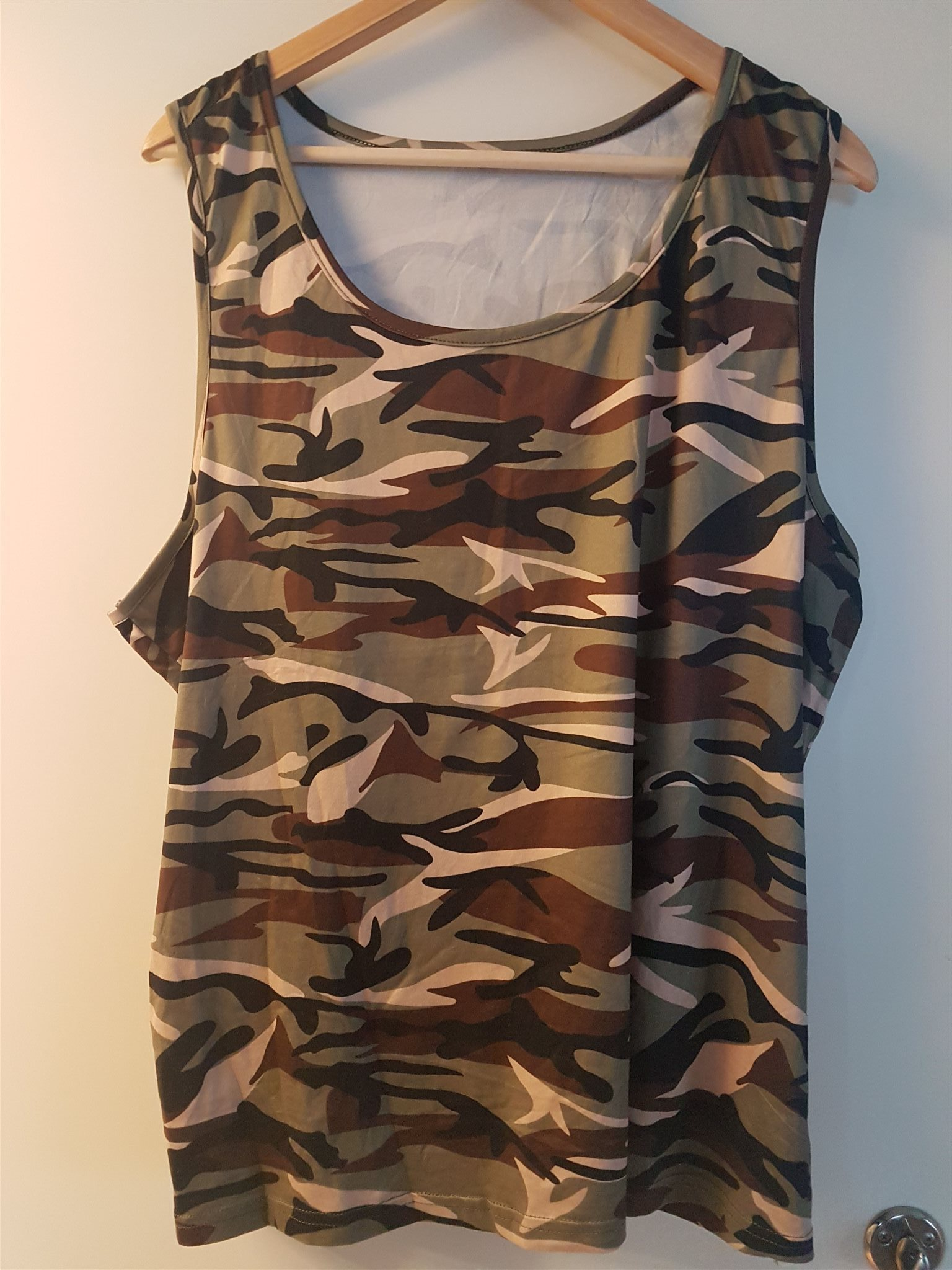 camouflage linne dam