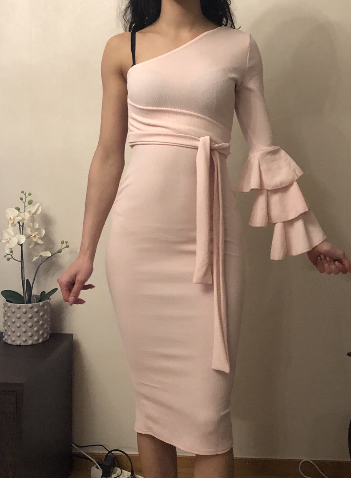 fcd95449ba75 Festklänning klänning storlek 34-36 (352253922) ᐈ Köp på Tradera