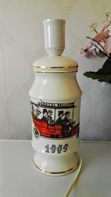 JÄTTE VACKER PORSLIN BORD LAMPA 1909 (366089109) ᐈ Köp på