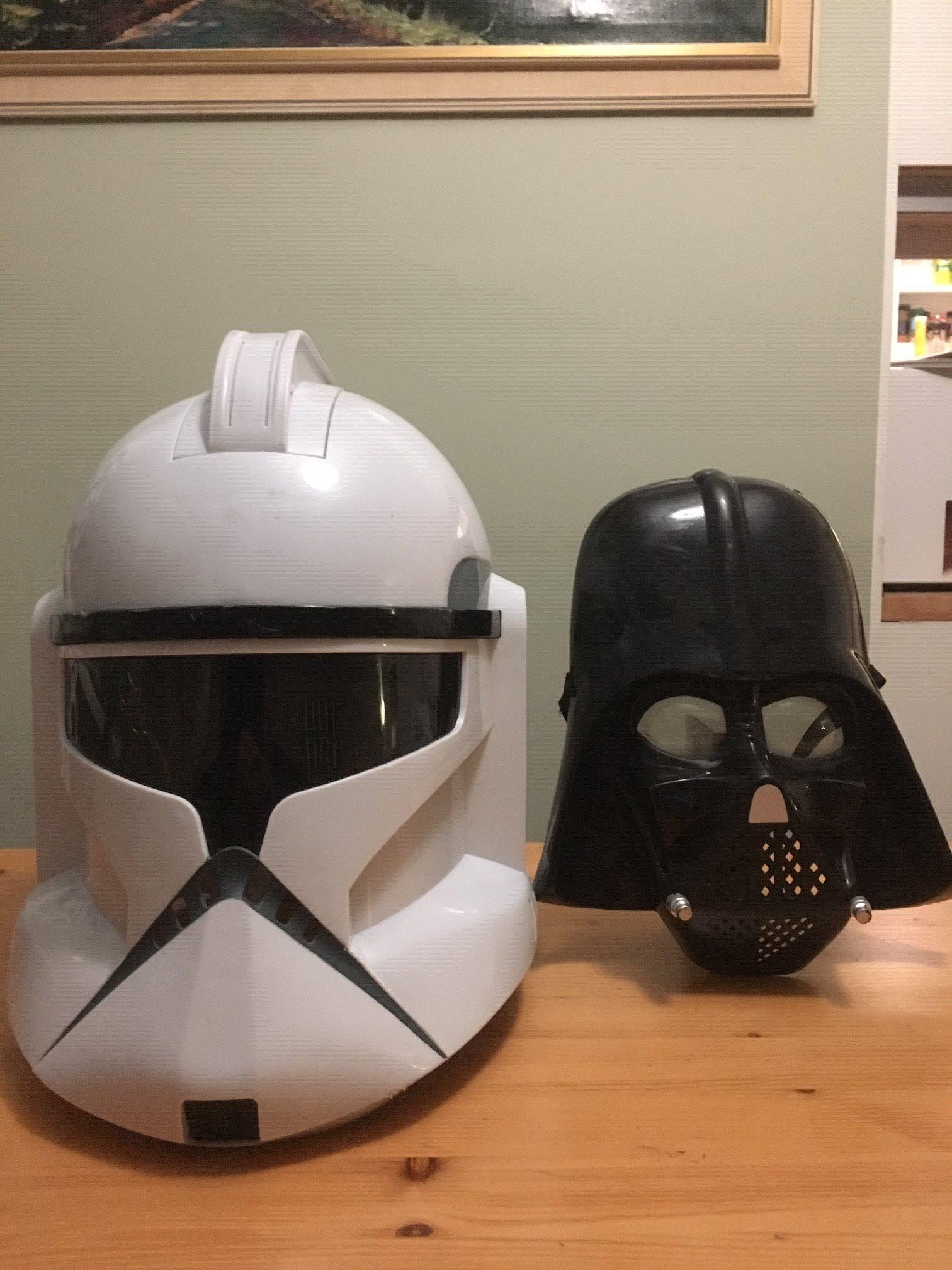Star Wars - Clone Trooper hjälm med ljud   mikr.. (332070689) ᐈ Köp ... 9e1f5bf0f6f18