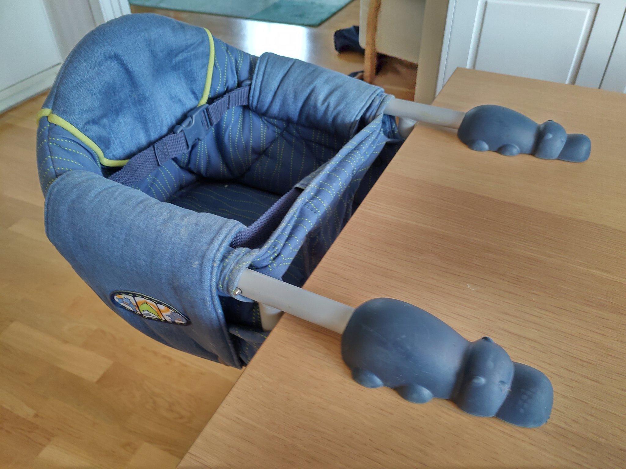 Barnstol Chicco för montering i bord