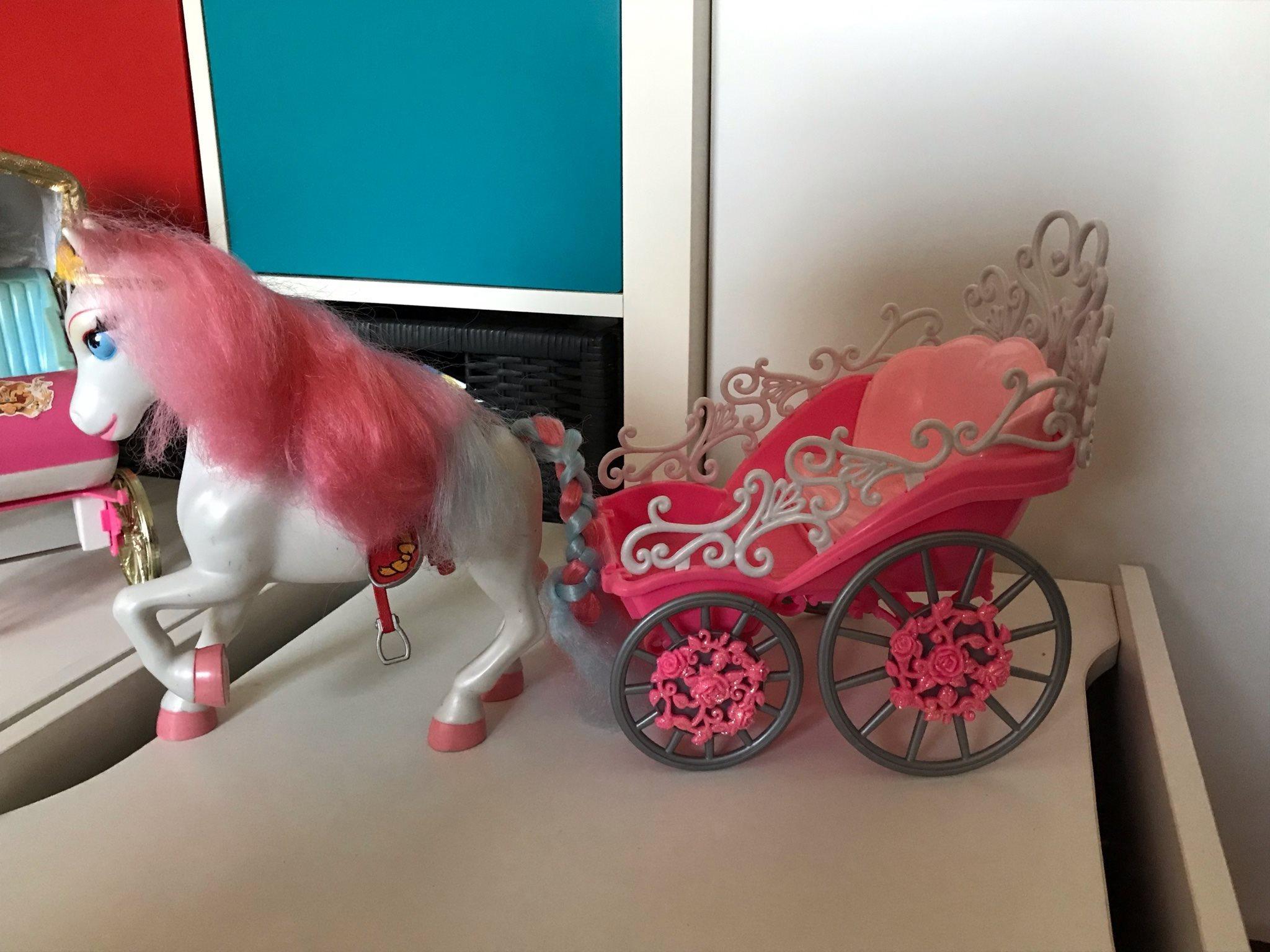 Barbie vagn vagn vagn med häst 8da5f9