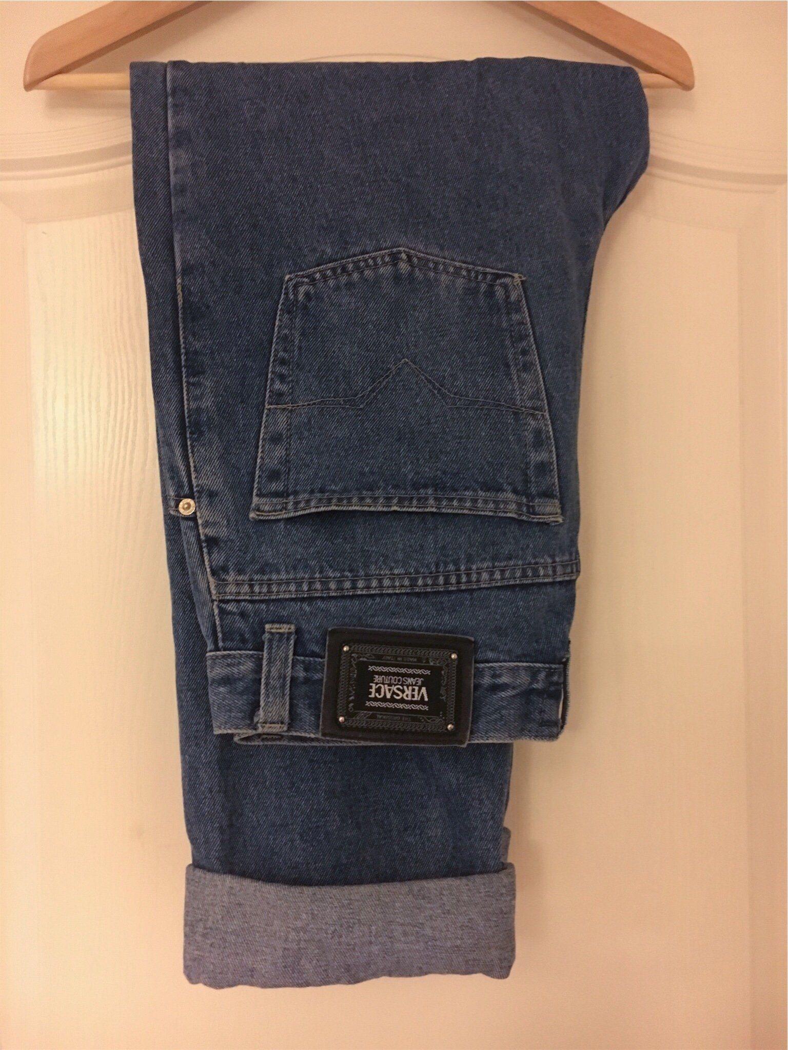 dc03db68853 Vintage Versace Jeans strl 34/33 (339634158) ᐈ Köp på Tradera
