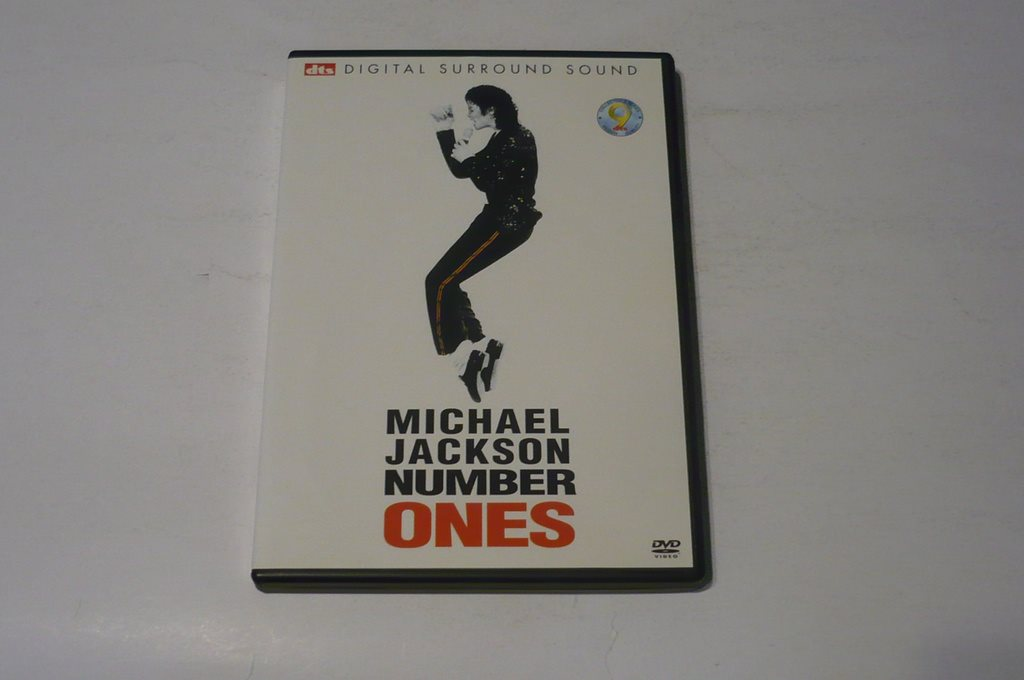 DVD MICHAEL JACKSON NUMBER ONES