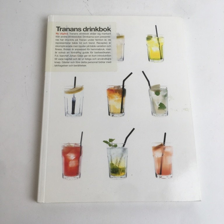 Bok, Tranans drinkbok, Tranan, Pocket, ISBN: 9789189152014, 1998