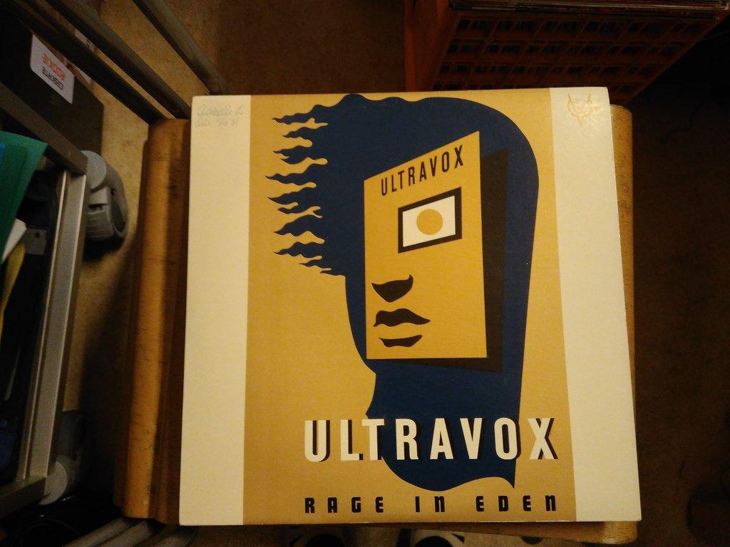 Ultravox Rage In Eden Lp 296392023 ᐈ K 246 P P 229 Tradera