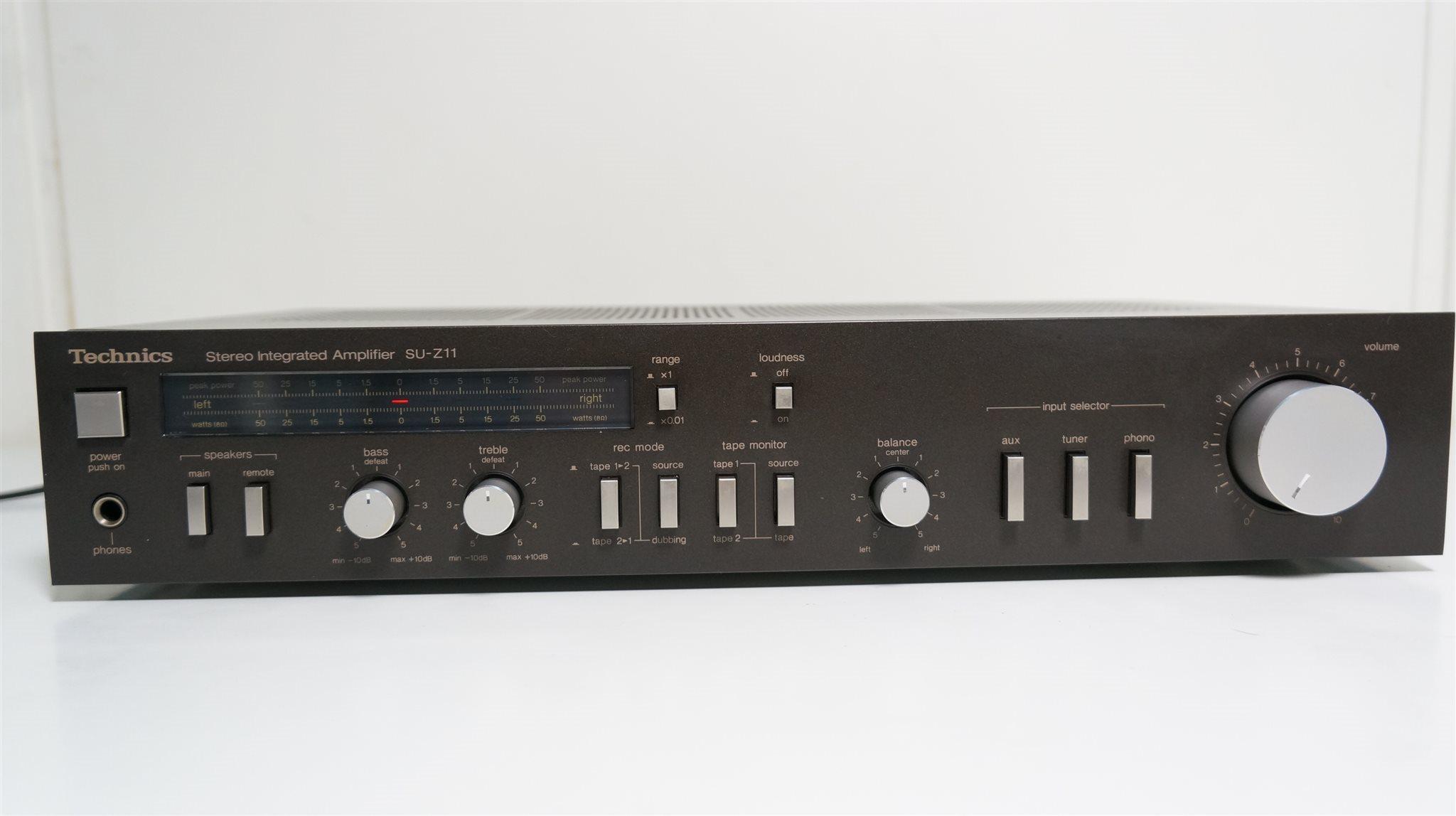 TECHNICS SU-Z11 Stereo integrerad förstärkare (319372696) ᐈ