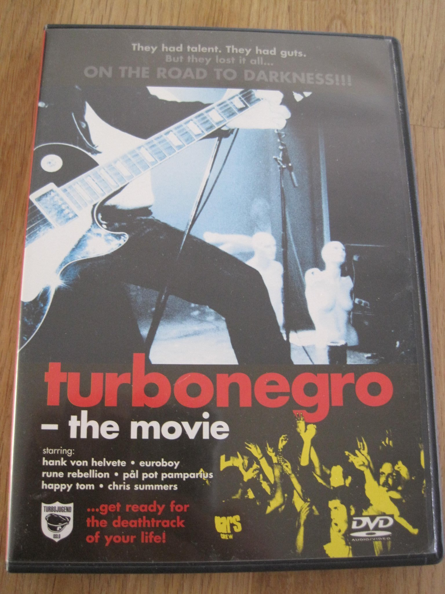 TURBONEGRO - THE MOVIE, DVD