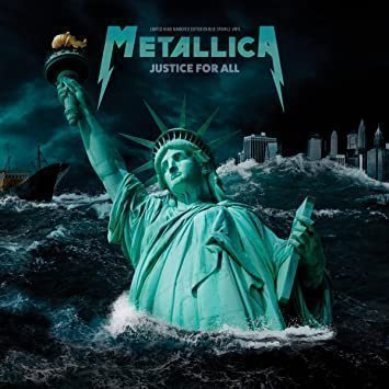 Metallica - Justice For All: Limited Edition on Blue Vinyl [VINYL] NEW/SEALED