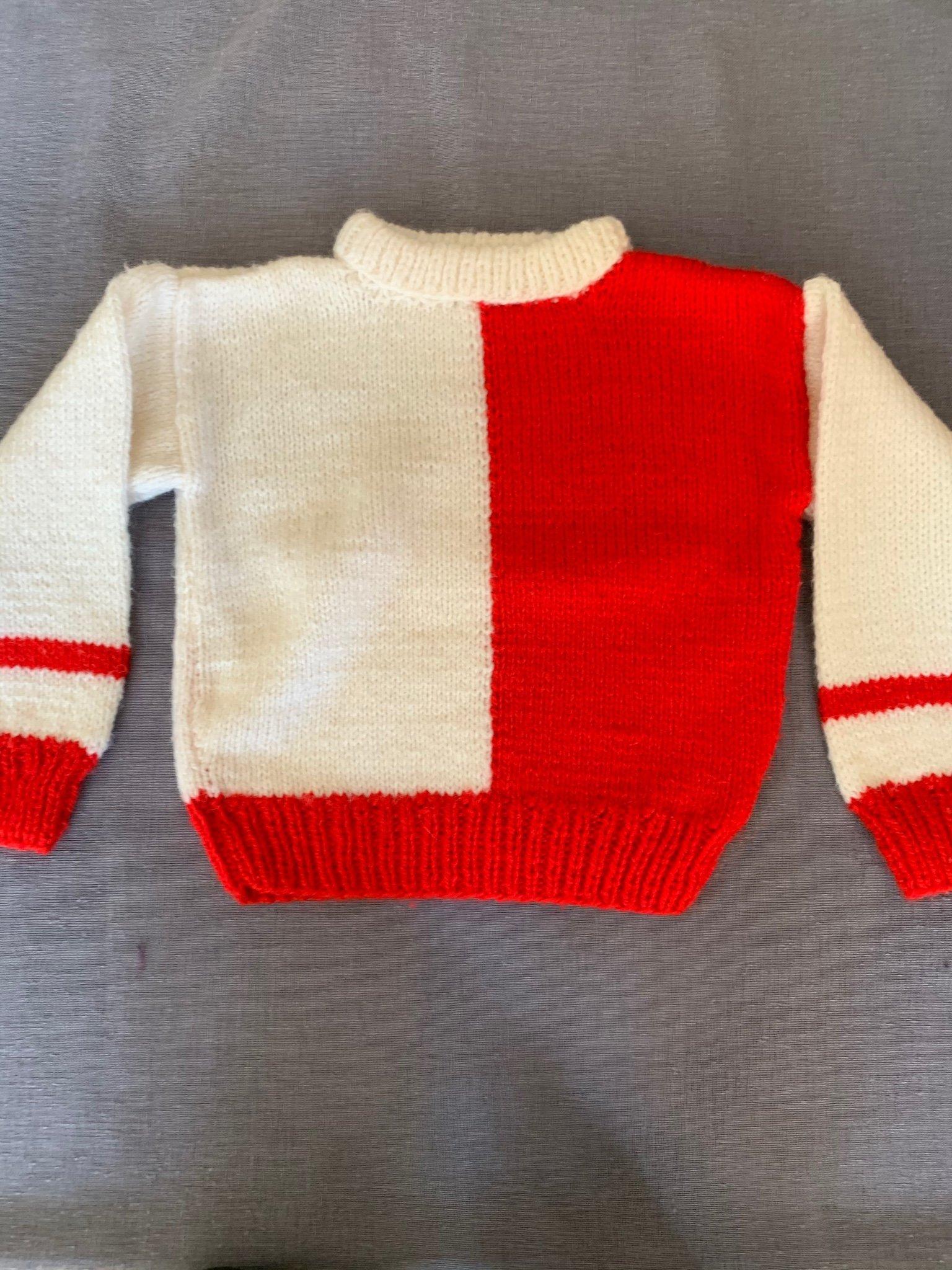 Vintage Stickad tröja från 80 talet. Storlek ca.. (423241522