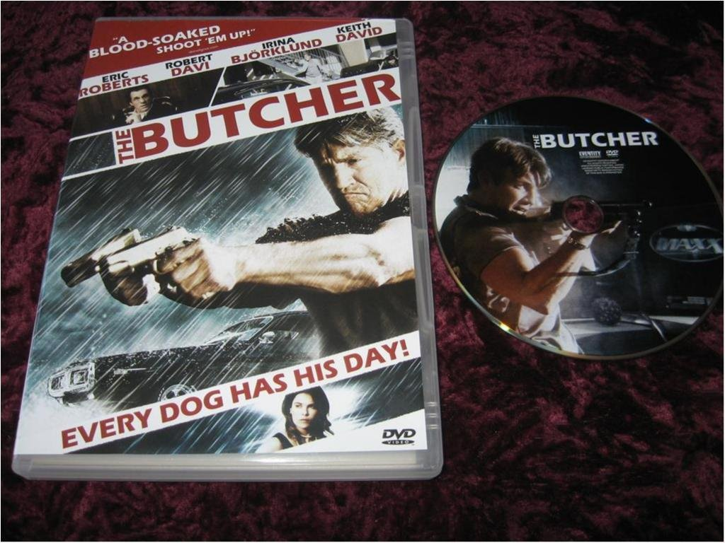 THE BUTCHER (ERIC ROBERTS,ROBERT DAVI,KEITH DAVID)DVD REG2