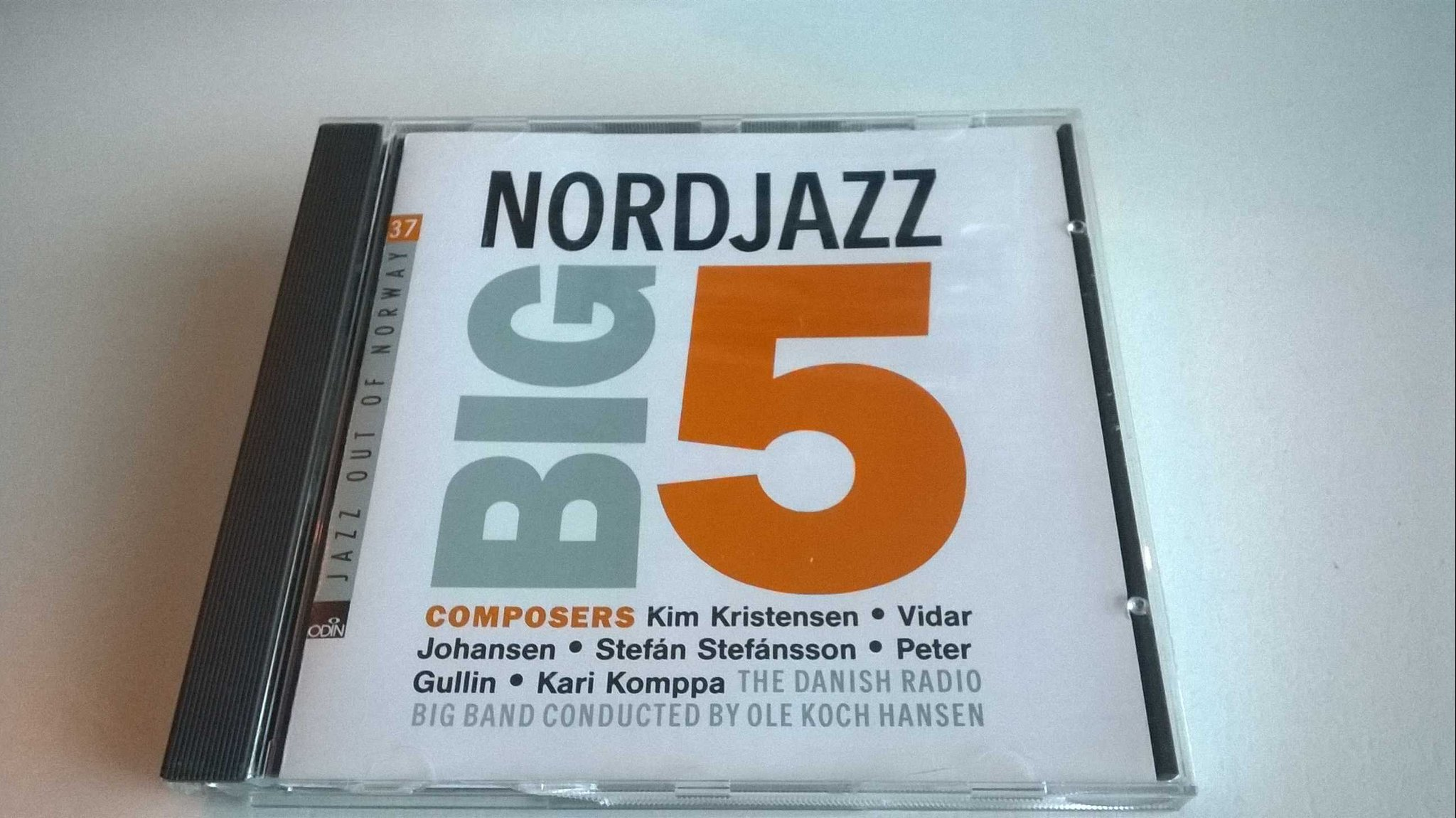 Nordjazz Big 5 - Album - Danish Radio Big Band, CD, rare!