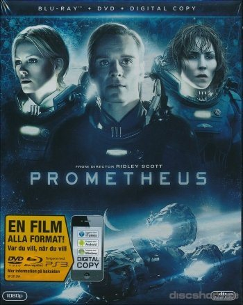 Prometheus, Combopack (Blu-ray+DVD), NY!, OOP!