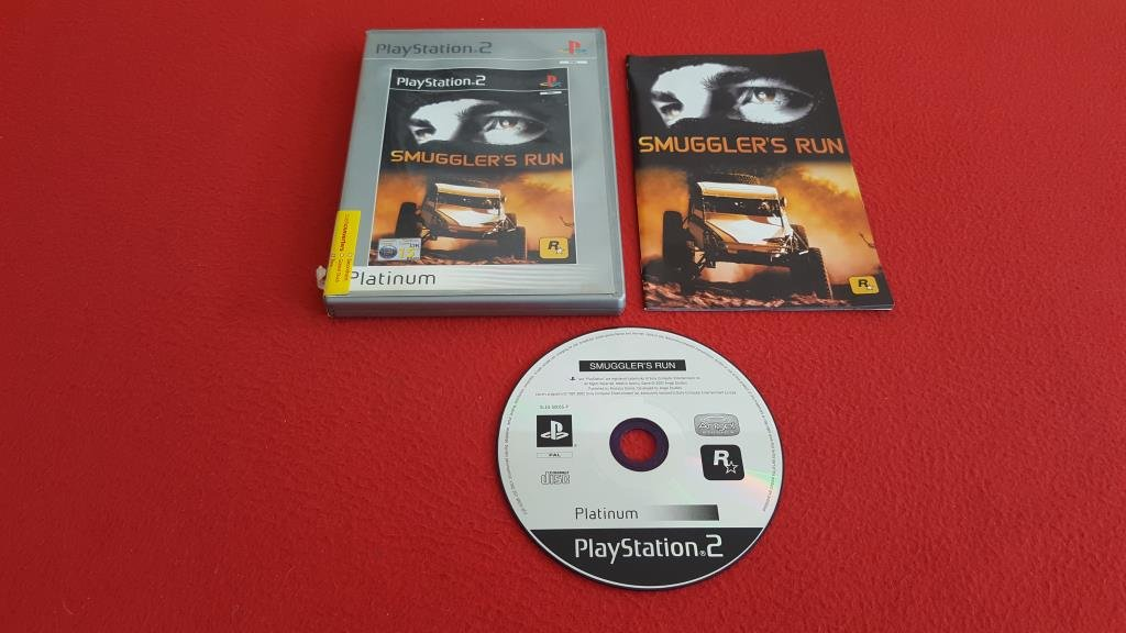 SMUGGLERS RUN till Sony Playstation 2 PS2