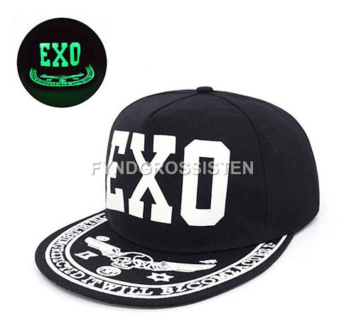 Graffiti Hip Hop Baseball Cap Fluorescent Light Snapback Men