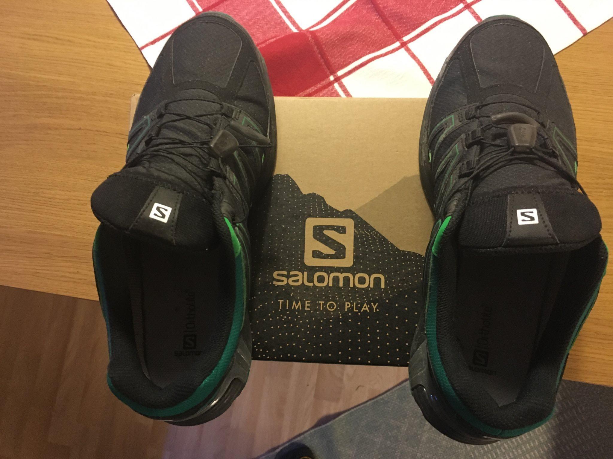Salomon goretex skor (334541709) ᐈ Köp på Tradera 23992034e368b