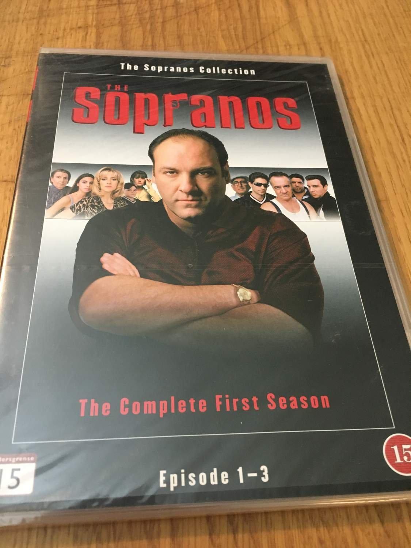 The Sopranos Season 1 Episode 1-3 DVD (354825415) ᐈ Köp på