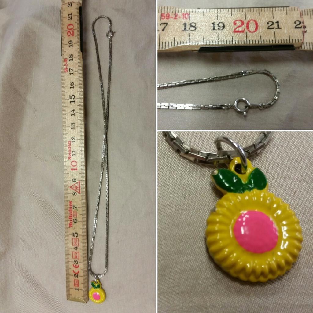 Retro bijouteri smycke halsband me.. (269839262) ᐈ vintagecorner på ... 48d532eed0239