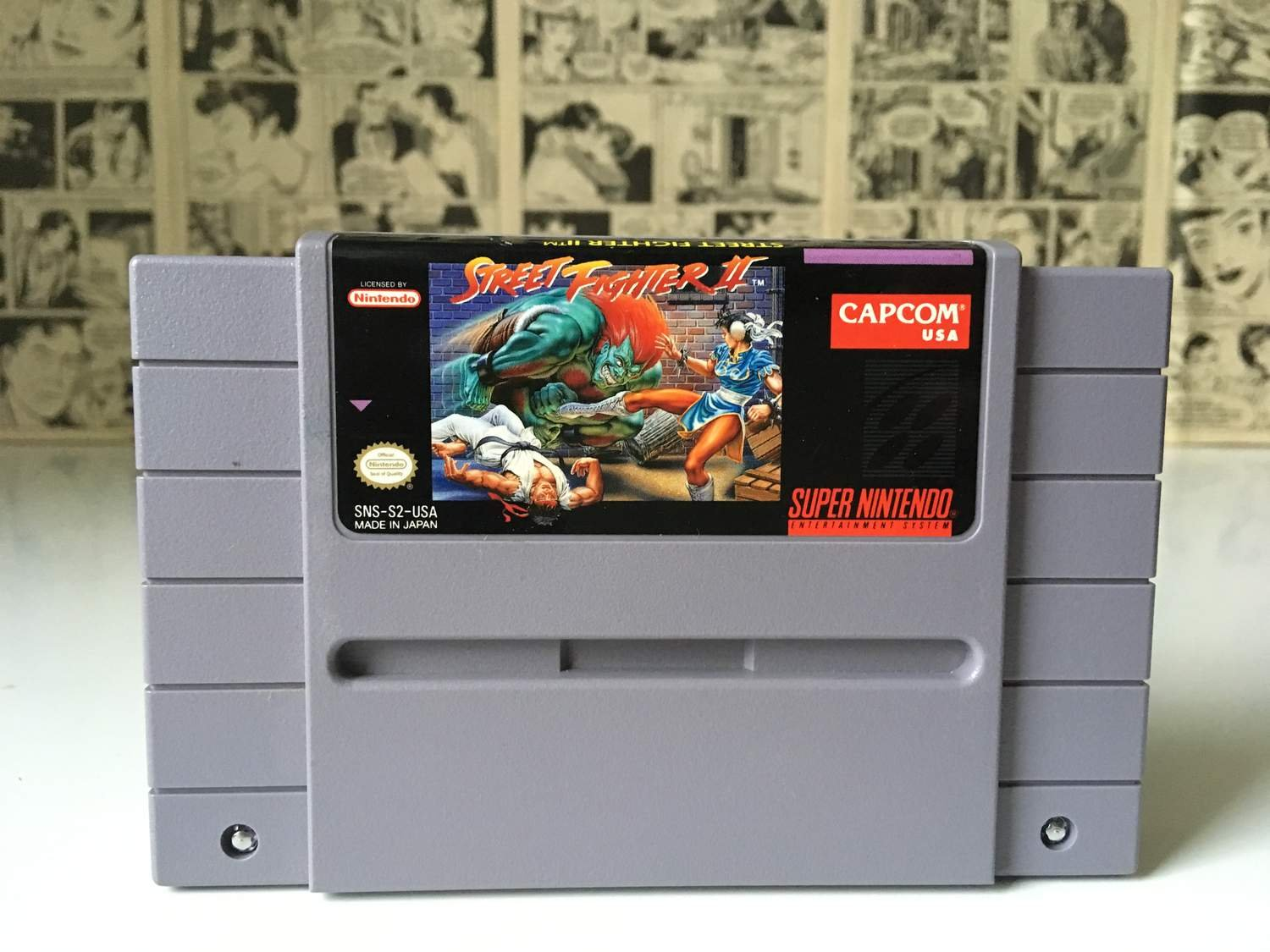 Street Fighter II (2) (NTSC-USA Super Nintendo SNES)