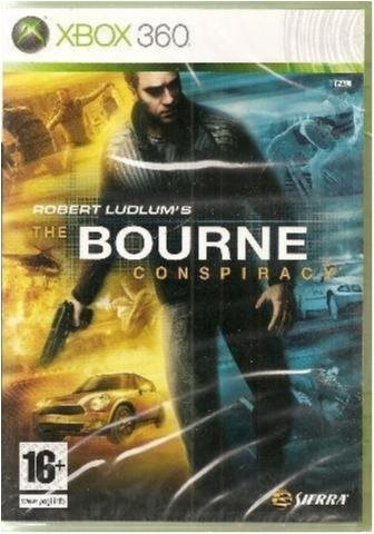 THE BOURNE CONSPIRACY  (INPLASTAT XBOX 360 SPEL)