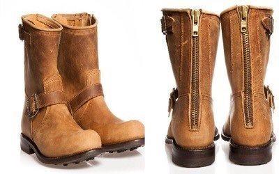 boots med dragkedja bak