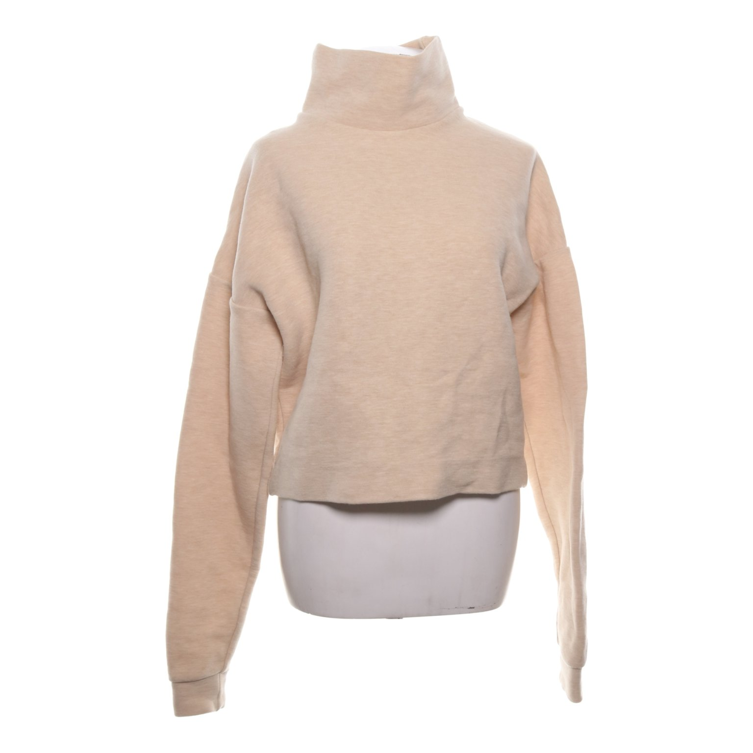 COS, Polotröja, Strl: XS, Beige, Bomull/Polyester