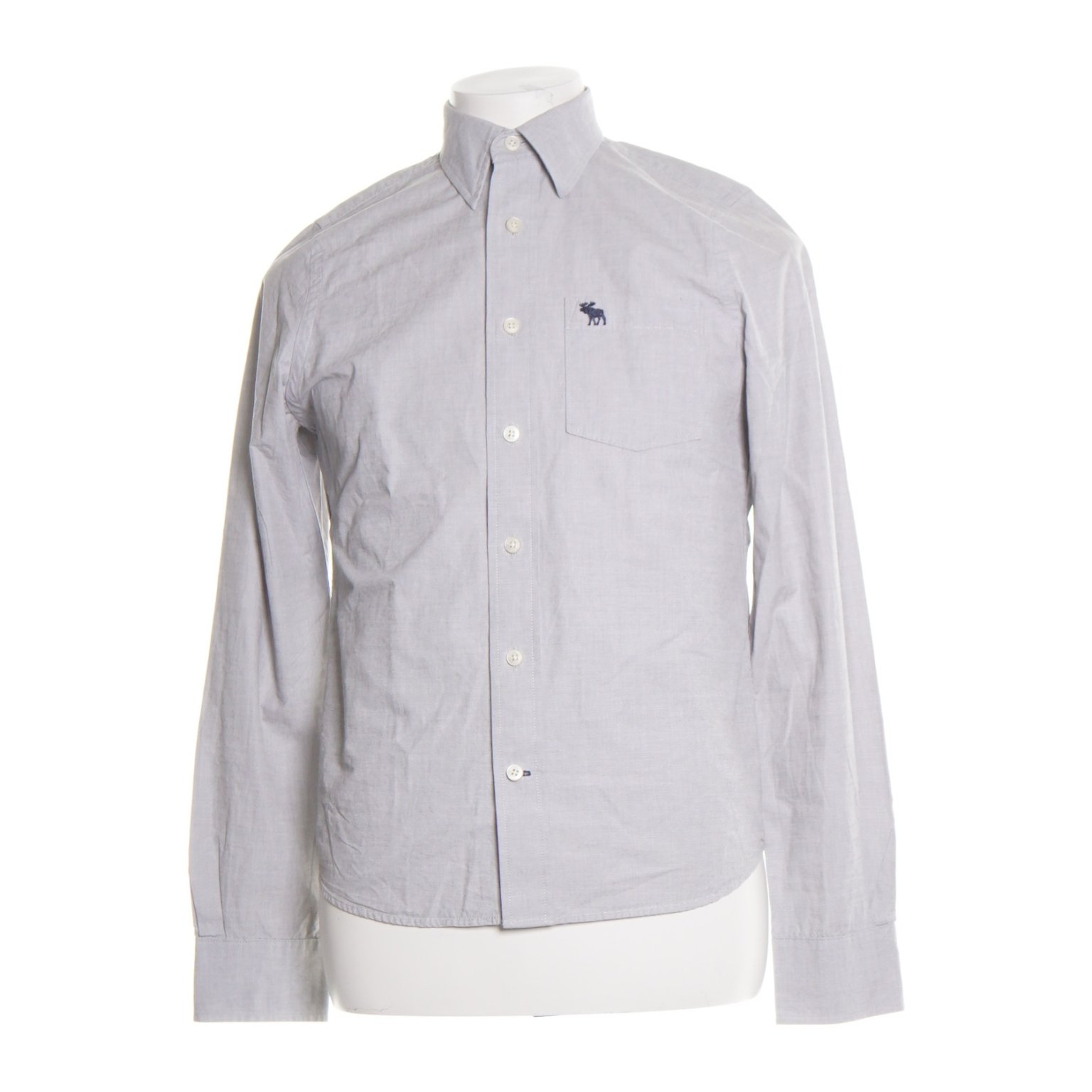 Abercrombie & Fitch, Buttondown-skjorta, Strl: XL, muscle, Grå