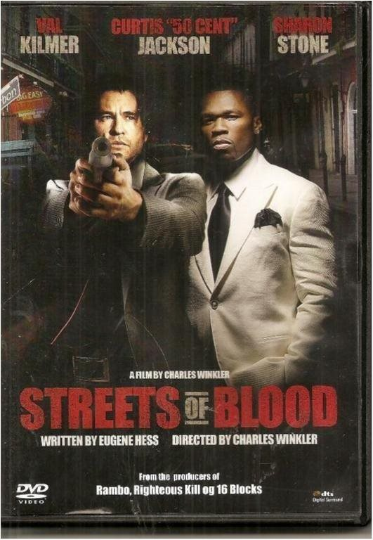 STREETS OF BLOOD - VAL KILMER /50 CENT  (SVENSKT TEXT)