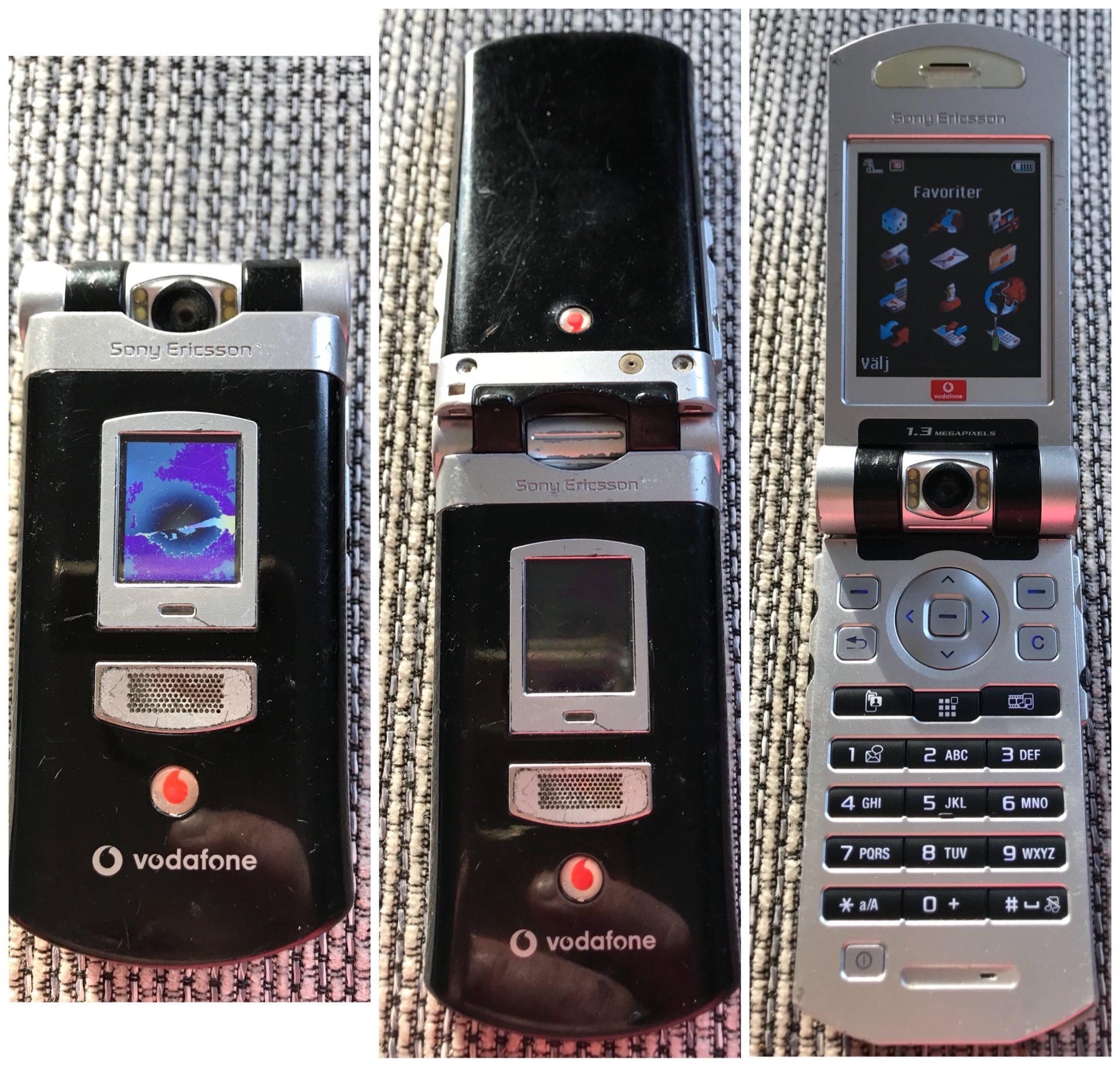 sony ericsson mobiltelefoner