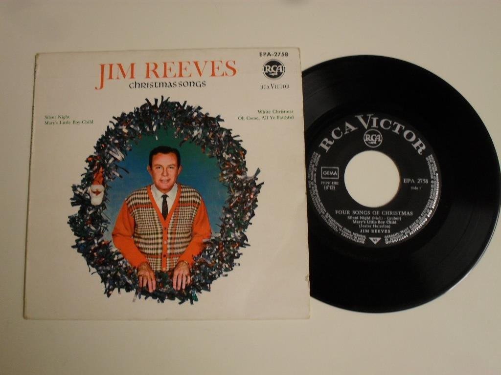 JIM REEVES - CHRISTMAS SONGS (RCA EP 1963 Tyskl.. (321297566) ᐈ Köp ...