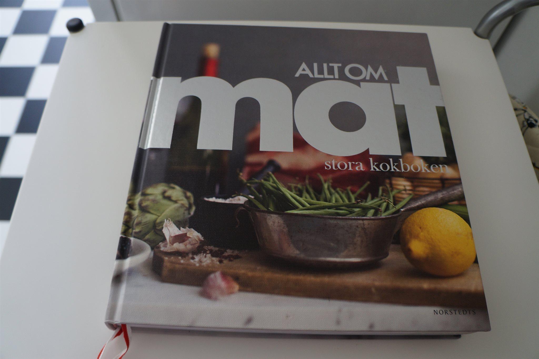allt om mat kokböcker