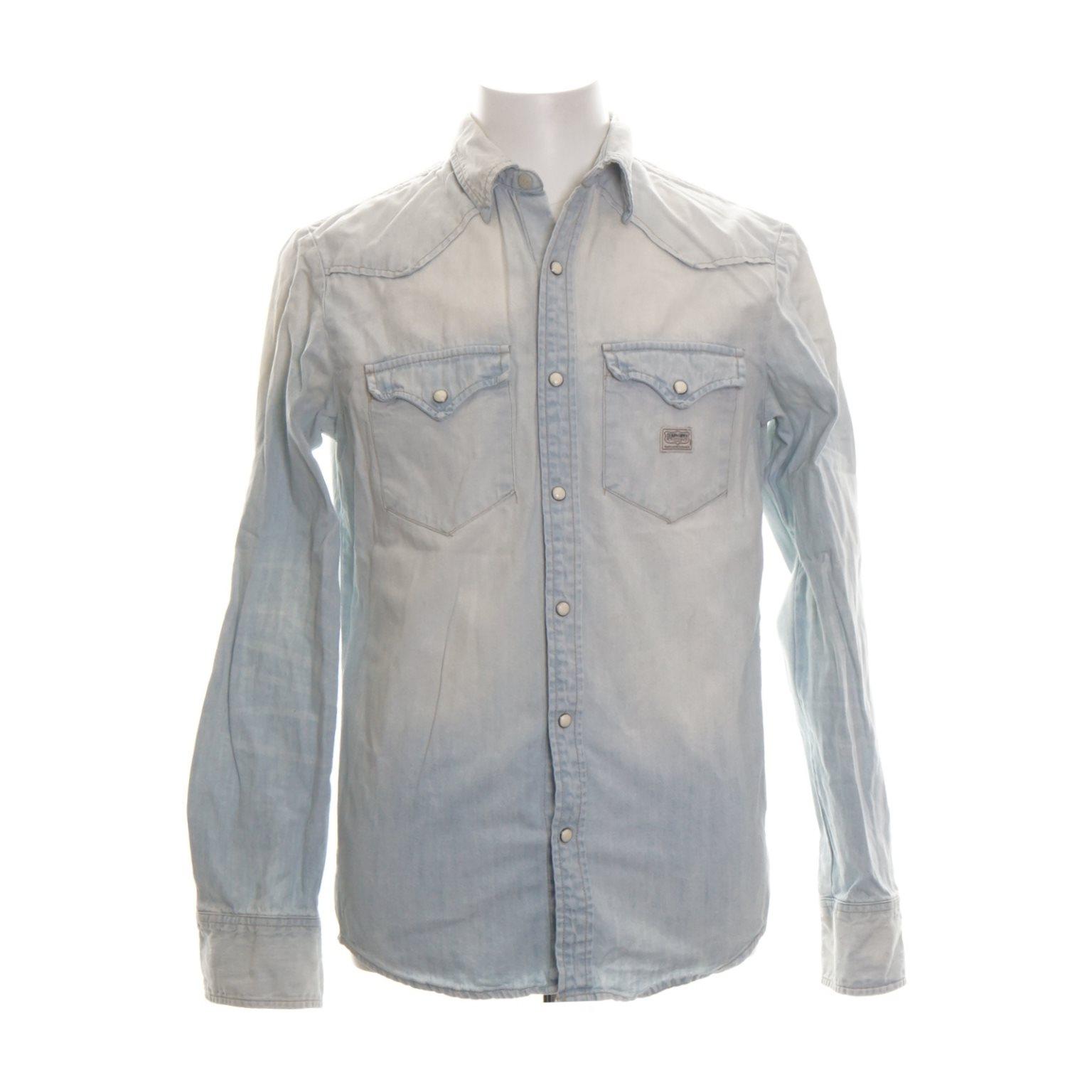 Denim & Supply Ralph Lauren, Skjorta, Strl: S, Ljusblå