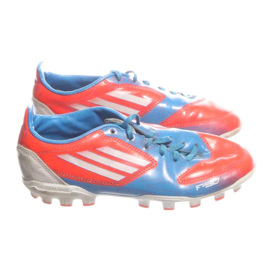 buy online 9c717 45033 Adidas, Fotbollsskor, Strl  35, Röd Blå Vit