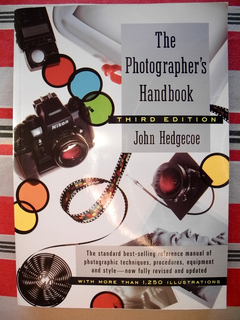 THE PHOTOGRAPHER'S HANDBOOK John Hedgecoe 1992