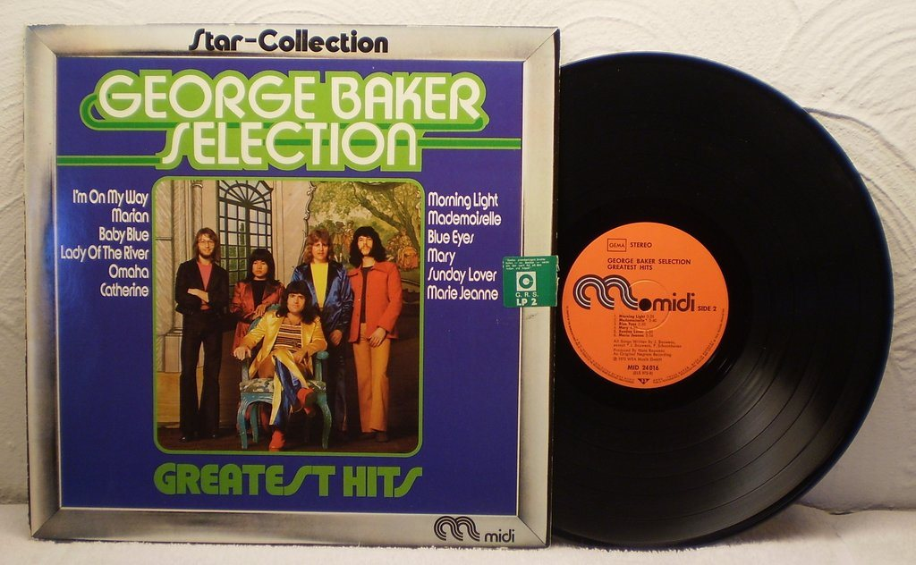 GEORGE BAKER SELECTION - GREATEST HITS