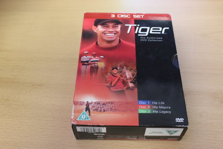 DVD-box: Tiger - The authorised DVD Collection (3-discs)