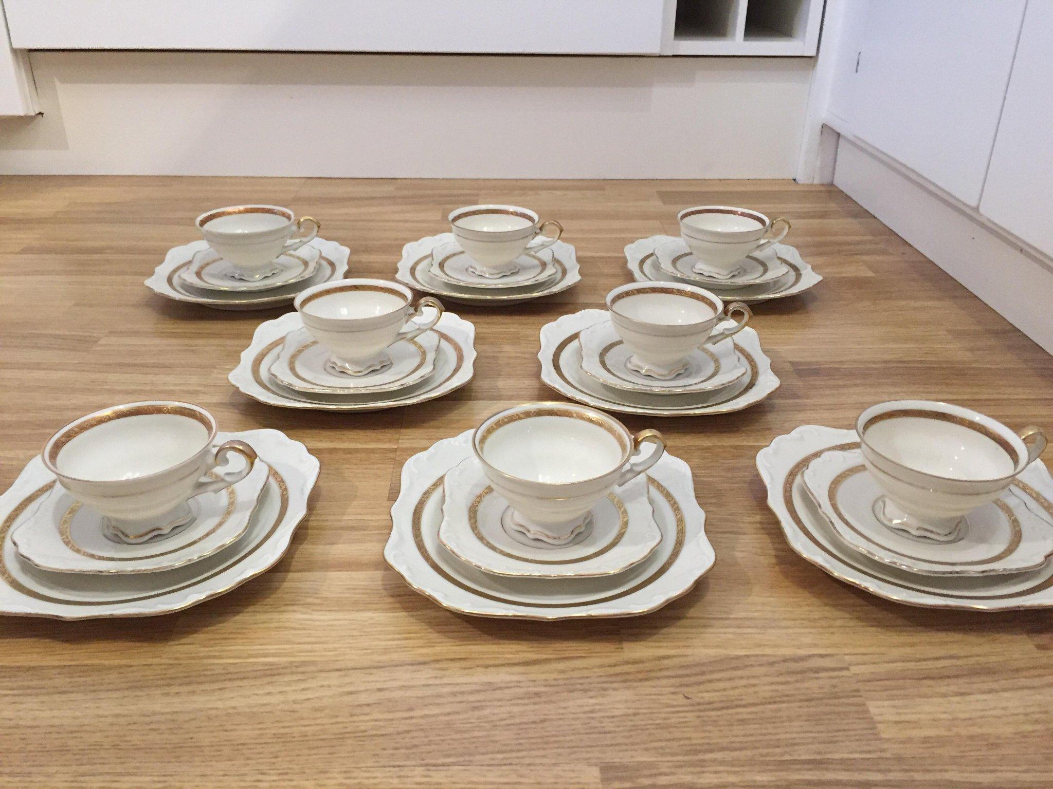 6081581a Kaffeservis, 24 delar, porslin, Koenigszelt, Ty.. (355680232) ᐈ Köp ...