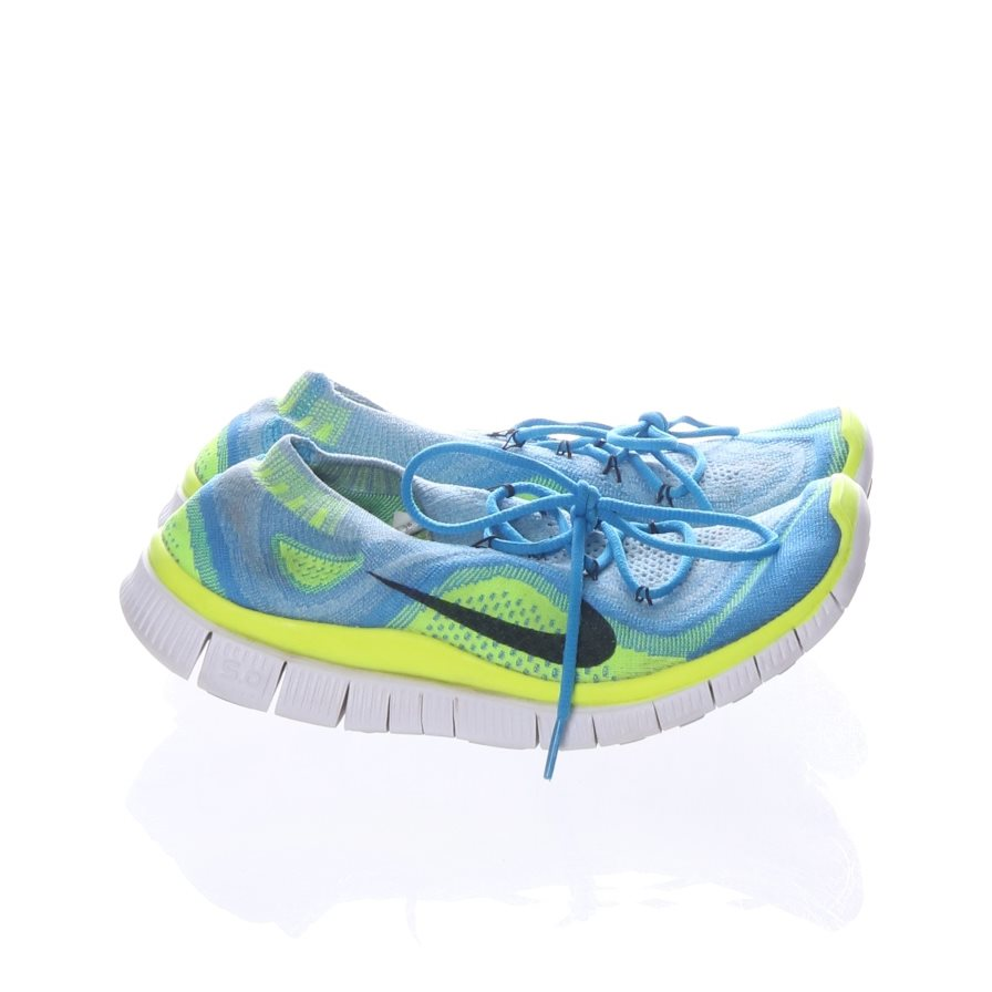 100% authentic 3c096 46fa9 ... coupon code for nike löparskor nike free 5.0 flyknit strl 41 blå gul  bf08c 46cca