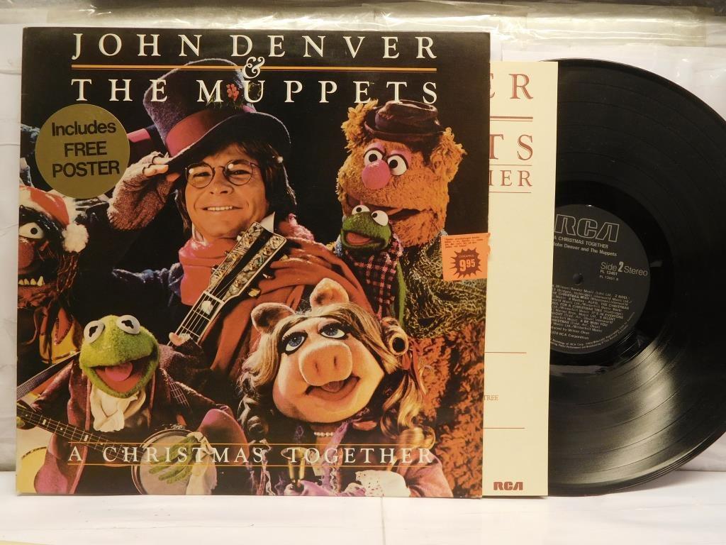 JOHN DENVER & THE MUPPETS - A CHRISTMAS TOGETHER på Tradera.com - 70-tal