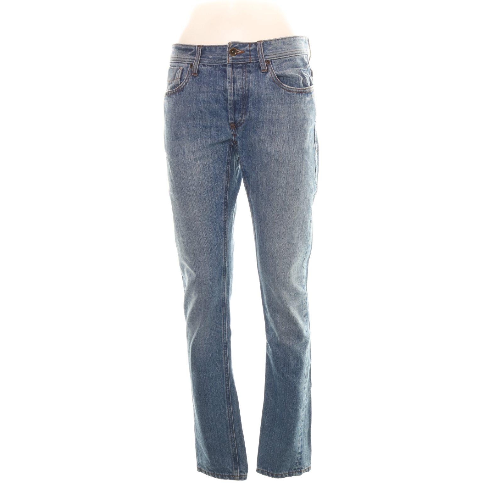 NN07, Jeans, Strl: 29/32, Ljusblå