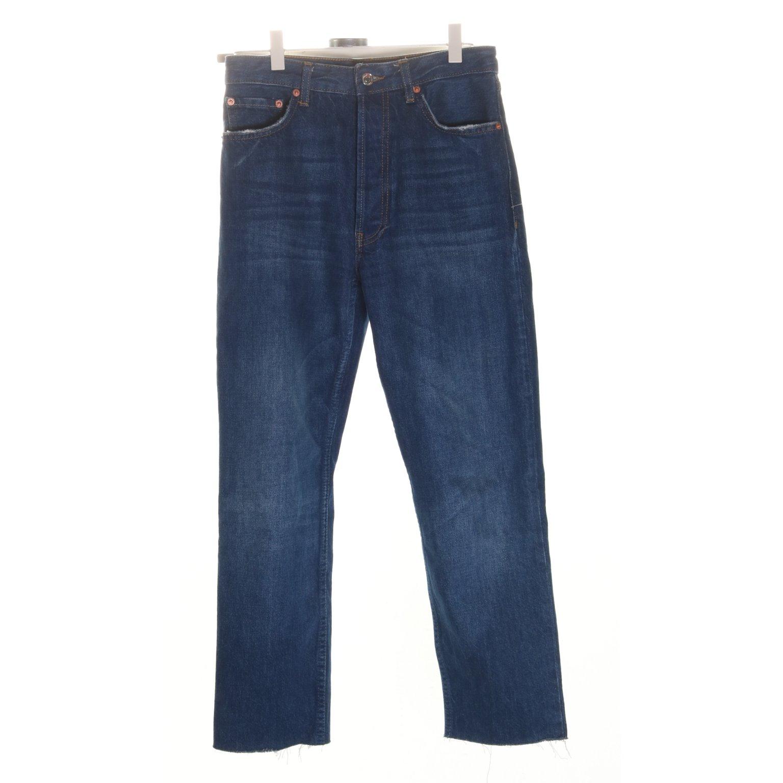 09f1de58136e Zara Woman, Jeans, Strl: Eur 34, Hög midj.. (353650199) ᐈ Sellpy på ...