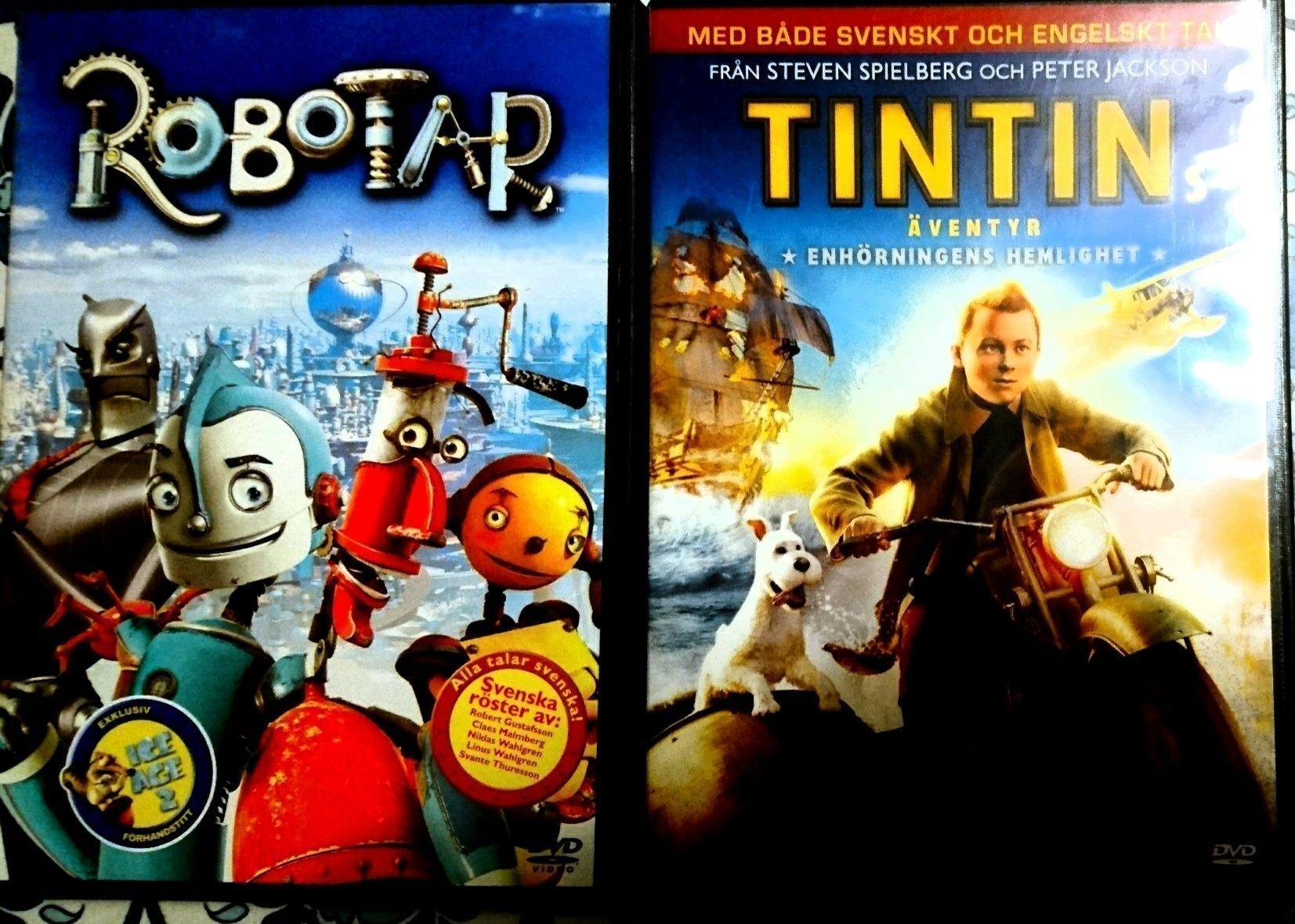 Robotar Och Tintin Enhorningens Hemlighet 416503878 ᐈ Kop Pa Tradera