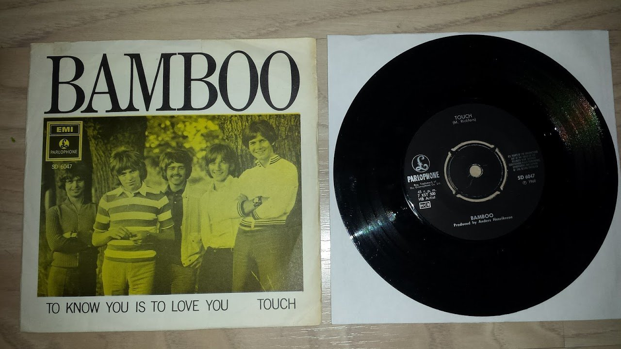 BAMBOO - TO KNOW YOU IS TO LOVE YOU / TOUCH