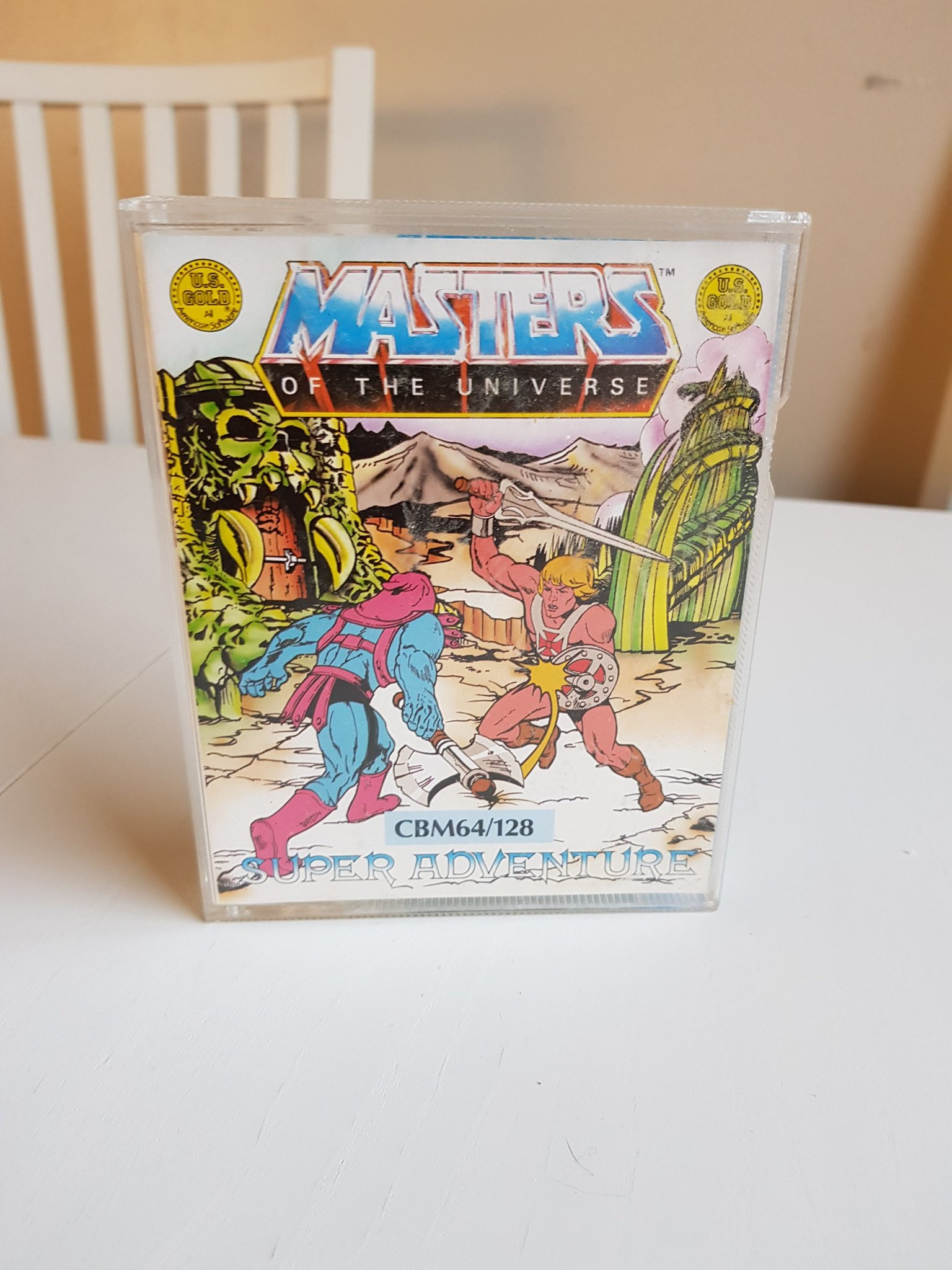 MASTERS OF THE UNIVERSE ( HE-MAN )till Commodore 64