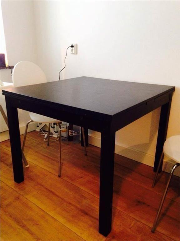 Kök köksbord ikea : IKEA Köksbord, brunsvart pÃ¥ Tradera.com - Köksmöbler | Möbler | Hem &