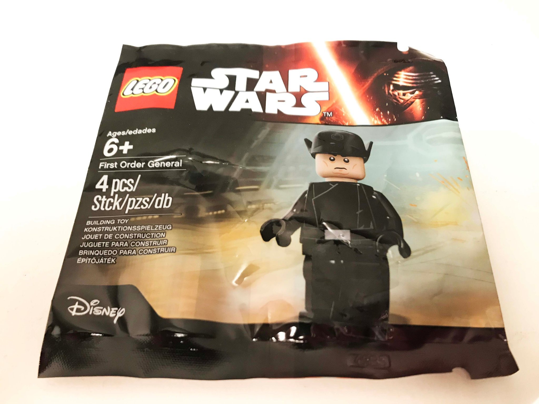Lego Star Wars 5004406  Minifigure First Order General *NEW Sealed Polybag