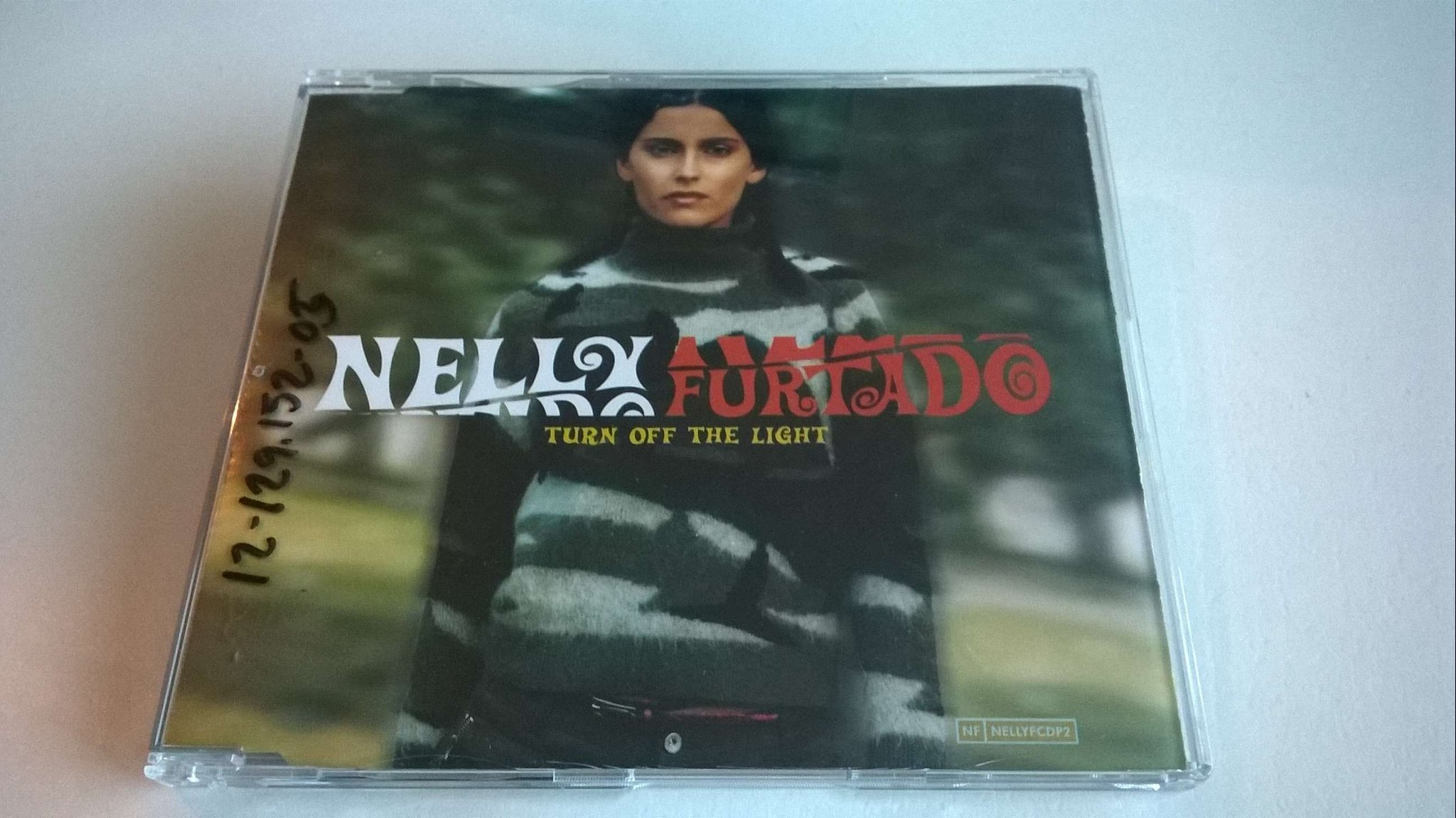 Nelly Furtado ?- Turn Off The Light, CD, Single, Promo