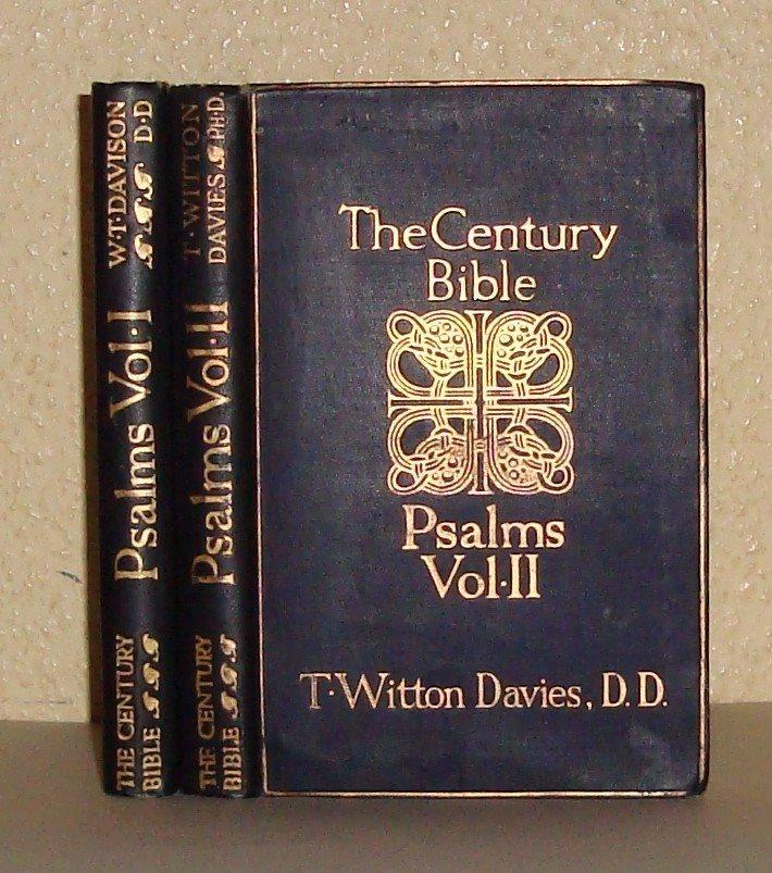 The Century Bible. The Psalms, Vol I-II.