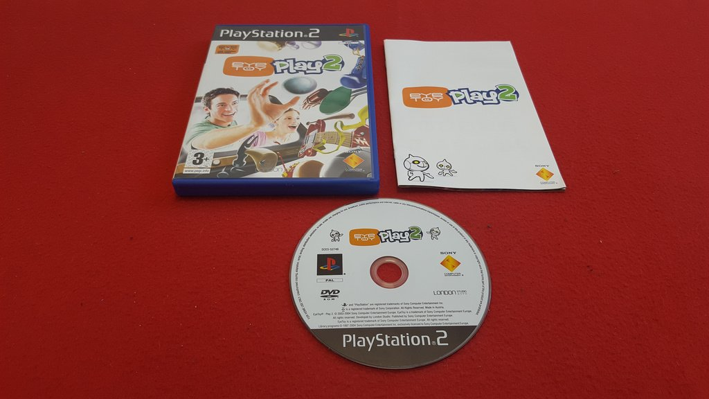EYETOY PLAY till Sony Playstation 2 PS2