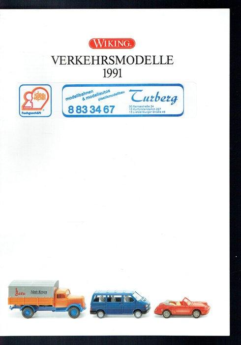 Wiking Verkehrsmodelle 1991